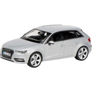 Автомобиль Schuco 1:43 Audi A3 Sportback, серебристый 450751700*