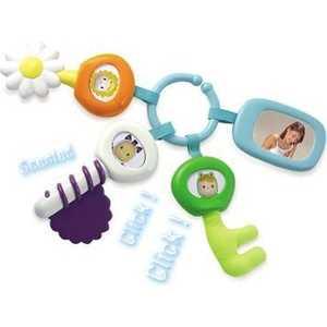 Smoby Многофункциональная игрушка, брелок с ключами 211300 smoby игрушка блендер tefal smoby