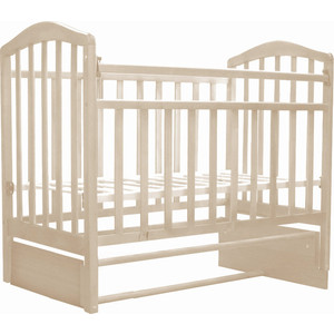 Кроватка Антел Алита-5 (слоновая кость) кроватка антел каролина 5 слоновая кость