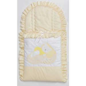 Конверт для новорожденного Сдобина ''Мой маленький друг'' (бежевый) 50.115