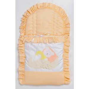 Конверт для новорожденного Сдобина Мой маленький друг (персиковый) 50.115 сумка прикроватная сдобина мой маленький друг салатовый 50 116
