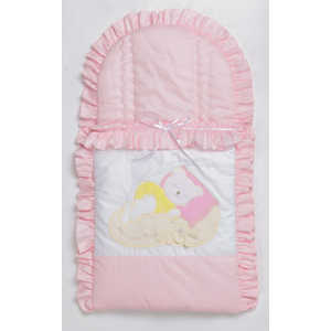 Конверт для новорожденного Сдобина Мой маленький друг (розовый) 50.115
