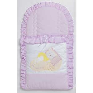 Конверт для новорожденного Сдобина ''Мой маленький друг'' (фиолетовый) 50.115