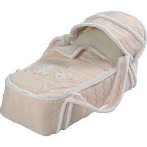 Фотография товара сдобина Меховая сумка переноска для новорожденного бежевый 79 (264454)