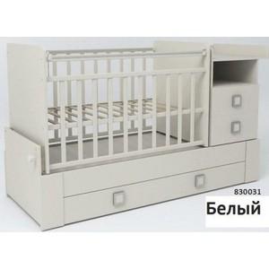 Кровать-трансформер СКВ Компани ''СКВ-8'' поперечный маятник (белый) 830031