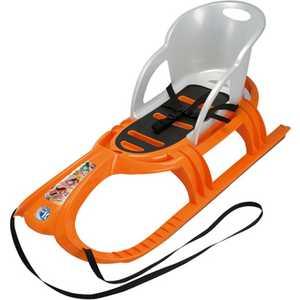 Санки KHW ''Snow Tiger Comfort'' со спинкой (оранжевый) 29400