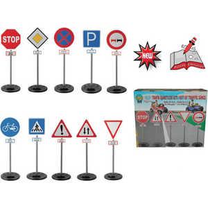 Игровой набор Pilsan Дорожные знаки на стойке 03415 фигурки игрушки лэм дорожные знаки