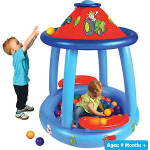 Надувной сухой бассейн Upright Веселая ферма OT8030J barneybuddy barneybuddy игрушки для ванны стикеры веселая ферма