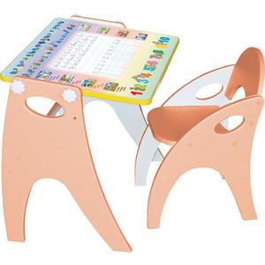 Набор мебели Интехпроект Буквы-Цифры (персиковый) 14-312 набор мебели буквы цифры салатовый