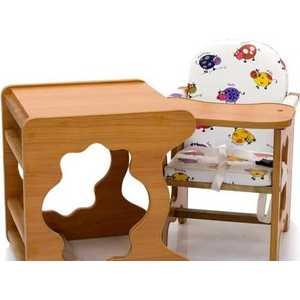 Стол-стул для кормления ПМДК ''Премьер'' (бычок/светлый орех/лдсп)