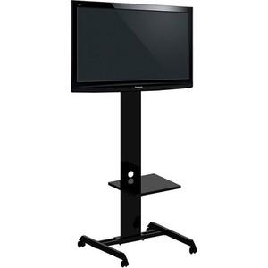 Стойка под телевизор Allegri Техно 3 65 на колесах с полкой черная музыкальный телевизор letv ls043nn1 40 43 дюйма тв стойка тв стойка телевизор фиксированная стойка подставка для телевизора
