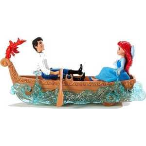 Mattel Набор игровой Disney Принцесса Русалочка 3D - Ариэль и Эрик на лодке Y0942