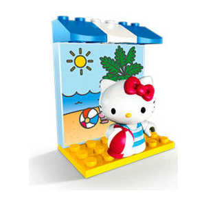 "Mega Bloks Мини-набор Hello Kitty ""Хобби"" на пляже 10853-na-plyaje/ast10810(10852,10853,10854,10855,10870,10871,10872,10876)"