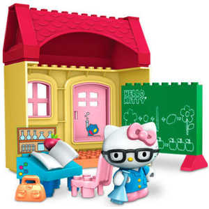 Mega Bloks Набор Hello Kitty Класс 10892_classroom/ast10890(10891,10892)