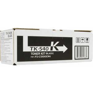 Kyocera TK-540K 5 000 стр. black для FS-C5100DN kyocera tk 540k black