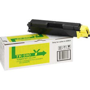 Kyocera TK-590Y 5000 стр. кабельная втулка fs 5 szgh cnim g004741
