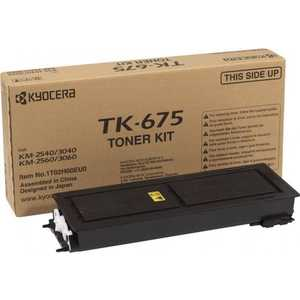 Kyocera TK-675 20 000 стр. для KM-2540/2560/3040/3060 new original kyocera 302f925430 thermister for km 2540 3040 2560 3060 ta300i fs c5400dn