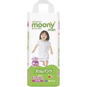 Трусики Moony для девочек 12-17 кг 36 (38) шт (Big) 4903111183760 moony трусики ночные для мальчиков 13 25 кг в барнауле