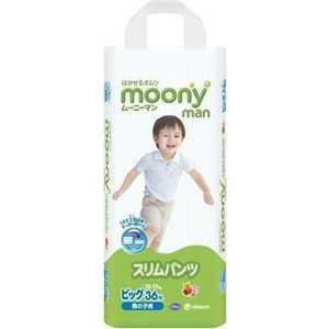 Трусики-подгузники Moony для мальчиков 12-17 кг ХL (38/4) 4903111184675