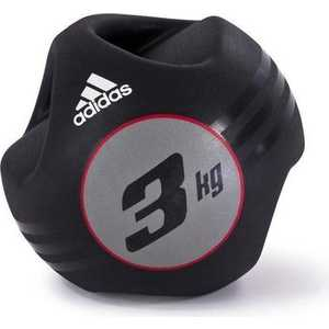 Медбол Adidas с ручками 3кг (ADBL-10412)