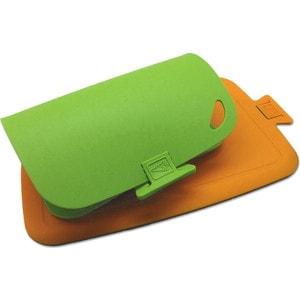 Набор из 2-х досок Chef Wellos зеленая и оранжевая CL