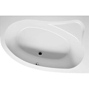 Акриловая ванна Riho Lyra 170x110 L левая, без гидромассажа (BA6400500000000) riho lyra лева�� 140x90x49