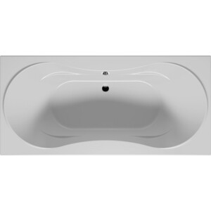Акриловая ванна Riho Viktoria/Supreme 190x90 без гидромассажа (BA5800500000000) riho акриловая ванна riho seth 180x86