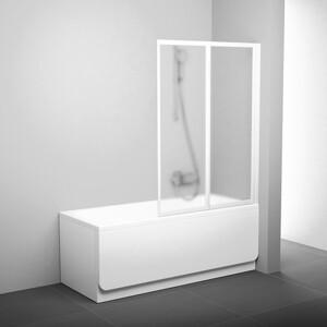 Фотография товара шторка на ванну Ravak Vs2 105 105х140 см грейп (796M0100ZG) (270149)