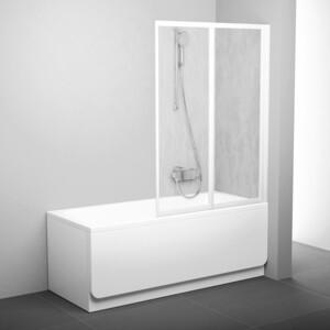 Фотография товара шторка на ванну Ravak Vs2 105 105х140 см рейн (796M010041) (270150)