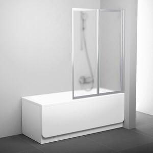 Шторка на ванну Ravak Vs2 105 105х140 см грейп (796M0U00ZG)