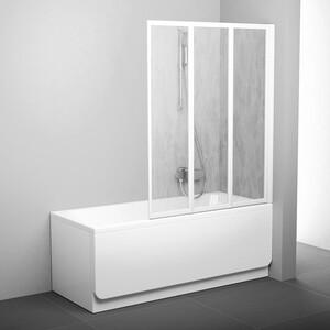 Фотография товара шторка на ванну Ravak Vs3 100 100х140 см рейн (795P010041) (270153)