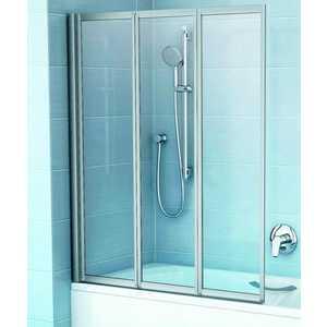 Шторка на ванну Ravak Vs3 100 100х140 см рейн (795P0U0041)
