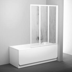 Шторка на ванну Ravak Vs3 115 115х140 см рейн (795S010041)