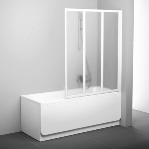 Шторка на ванну Ravak Vs3 130 130х140 см грейп (795V0100ZG)