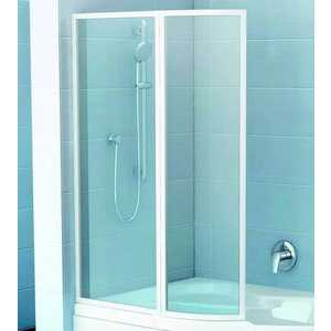 Шторка на ванну Ravak Vsk2 Rosa 150 L, 150х150 см, левая, рейн (76L8010041)