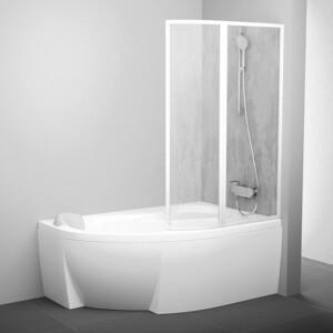 Шторка на ванну Ravak Vsk2 Rosa 160 R, 160х150 см, правая, рейн (76P9010041)