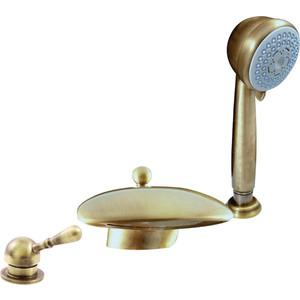 Смеситель для ванны Rav Slezak на 3 отверстия (L070.5SSM) смеситель для ванны rav slezak на 5 отверстий mk162 5psm