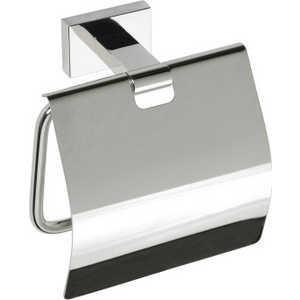 Держатель туалетной бумаги Bemeta с крышкой (118112012) держатель туалетной бумаги bemeta с крышкой 118112012