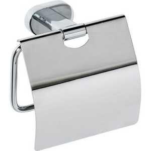 Держатель туалетной бумаги Bemeta с крышкой (118412011) держатель туалетной бумаги lemark omega с крышкой lm3134c