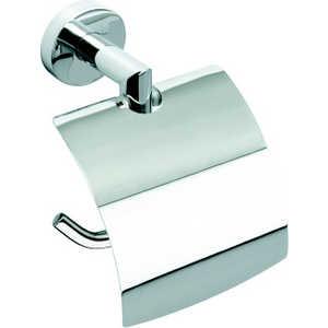 Держатель туалетной бумаги Bemeta с крышкой 150x90x150мм (104212012) держатель туалетной бумаги bemeta с крышкой 118112012