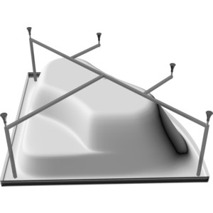 Усиленная рама Riho doppio (2YNDP1081)