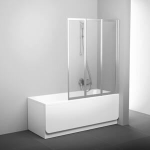 Фотография товара шторка на ванну Ravak Vs3 130 130х140 см (795V0U00Z1) (272165)