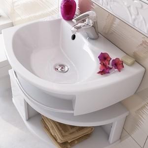 Раковина мебельная Ravak rosa левая белая с отверстиями (XJ2L1100000) от ТЕХПОРТ