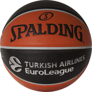 Мяч баскетбольный Spalding TF-1000 Legacy Euroleague Offical Ball р.7, (74-538z) spalding spalding 73 303 резиновый материал no 6 мяч женщина с мячом баскетбол