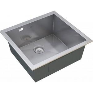 Мойка кухонная ZorG inox 440x440 (x-4444) мойка кухонная zorg inox glass 600x510 gl 6051 white bronze
