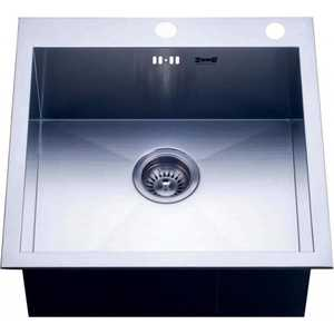 Мойка кухонная ZorG inox 510x510 k/a x-5151 кухонная мойка ukinox fap 510 gt 8