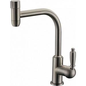 Смеситель для кухни ZorG Clean water (ZR 323 yf-33 nickel) смеситель для ванны zorg mlada zr 116 w
