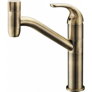 Смеситель для кухни ZorG Clean water (ZR 402 kf-br) сифон дл раковины zorg бронза zr a1 br