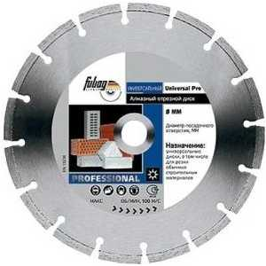Диск алмазный Fubag 300х30/25.4мм Universal Pro (12300-6)