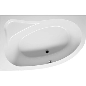 Акриловая ванна Riho Lyra правая 153x100x49 riho гидромассажная ванна riho yukon 160x90 правая
